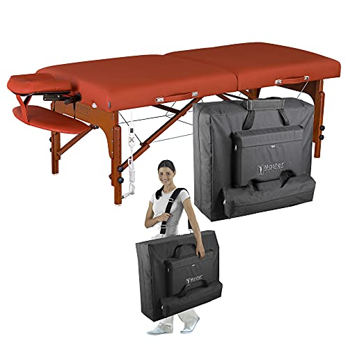 Master Massage 31' Santana Heated Massage Table Portable, Extra Wide Massage Bed, Memory Foam...