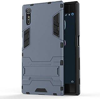 جراب جلدي من متجر sizOO - جراب هاتف صلب مضاد للصدمات لهاتف Sony Xperia XZ F8331 F8332 XZs Dual G8231 G8232 Combo Armor Cas...
