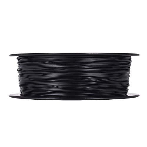 Fucaiqian CCH-YS Materiales, 1,75 mm 1pc 1kg / Spool Flexible de Material TPU filamento de impresión Impresora 3D de filamentos de Impresora 3D Dibujo lápiz de la Pluma (Color : Black)