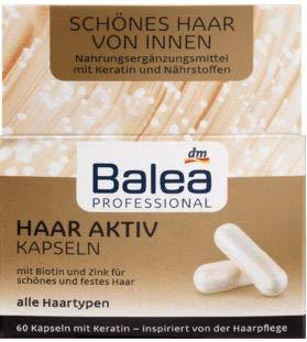 Balea Professional Haar Aktiv Kapseln, 60 Kapseln