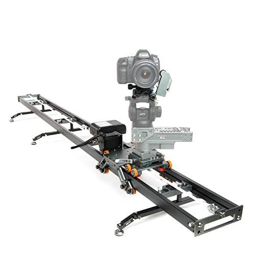 asxmov-g278aleación de Aluminio Dolly Deslizante motorizada de Pista Seguimiento de Enfoque para Timelapse Stop Motion DSLR Cámara Grabación de vídeo Equipo fotográfico