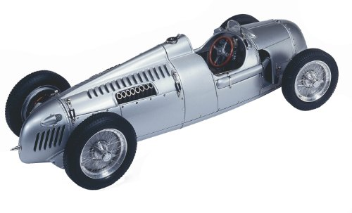 CMC-Classic Model Cars Auto Union Type C 1936 1:18 Scale Detailed Assembled Collectible Historic Antique Vehicle Replica