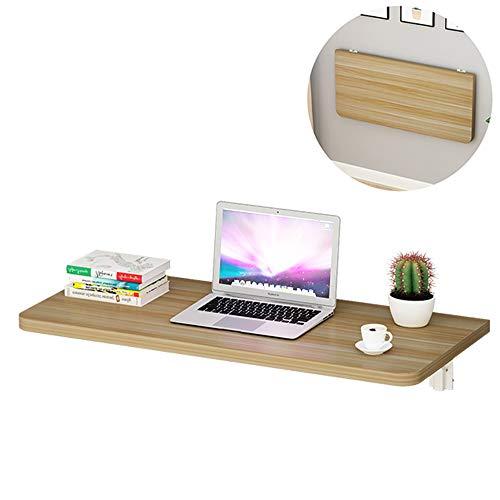 Wall-mounted table Mesa Plegable De Pared Abatible, Escritorio para Computadora, Mesa para Niños, Mesa De Comedor, Cocina, 60x40, Esquinas Redondeadas, Tablero De Partículas, Estilo Simple