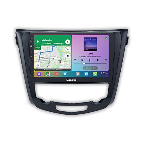 Dasaita Android 10.0 Car Radio para Nissan X-Trail Qashqai j11 j10 Radio 2014 2015 2016 2017 2018 10.2 'IPS Pantalla Carplay Android Multimedia Video Navegación GPS