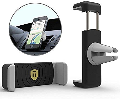 Tarkan Rubberized Premium Air Vent Universal Car Mount Holder For All Mobile Phones 4 Inch To 6 3 Inch