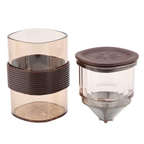 Shipenophy Taza de café portátil Conveniente para Viajar