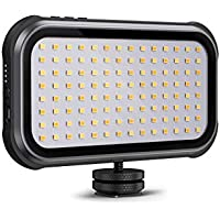 TaoTronics Portable Led Video Light for DSLR Camera Camcorder with Built in 4000mAh Rechargeable Battery