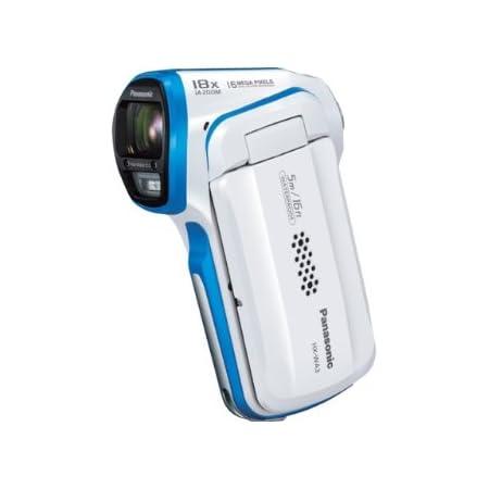 パナソニック デジタルムービーカメラ 防水仕様 ホワイト HX-WA3-W