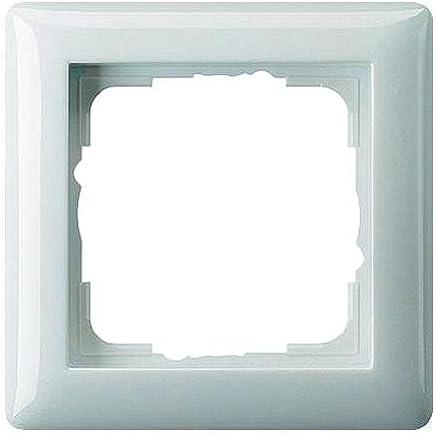 Gira 021103 Rahmen 1-Fach ST55, reinweiß-glänzend