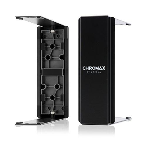 Noctua NA-HC2 chromax.black, cover per dissipatori di calore (per NH-U12S, NH-U12S-SP3 e NH-U12S SE-AM4), nero