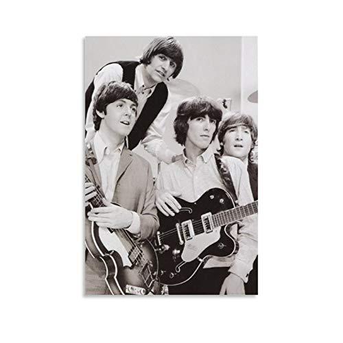 Dia De Los Beatles Poster, dekoratives Gemälde, Leinwand, Wandkunst, Wohnzimmer, Poster, Schlafzimmer, Gemälde, 30 x 45 cm
