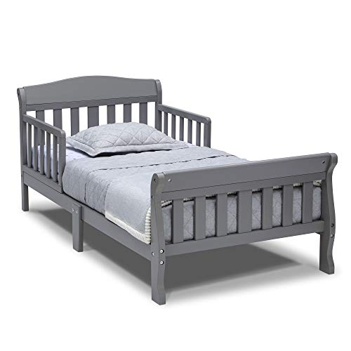 Delta Children Canton Toddler Bed, Grey
