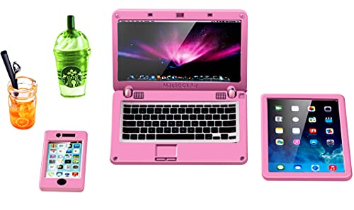 ANNI STAR Miniature Laptop Computer Tablet Toy...