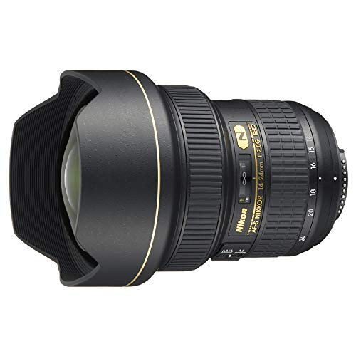 Nikon Obiettivo Nikkor AF-S 14-24 mm f/2.8G ED, Nero [Versione...