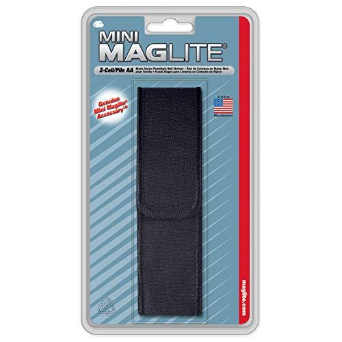 Maglite Etui nylon pour lampe Mini R6 Noir