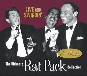 Live & Swingin': The Ultimate Rat Pack Collection by Frank Sinatra, Dean Martin, Sammy Davis Jr. CD+DVD, Live edition (2003) Audio CD
