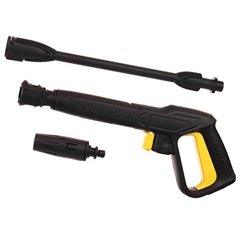 Pistool met lans, instelbaar mondstuk voor hogedrukreiniger Kärcher K Series Click Quick Connect.