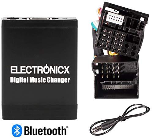 Electronicx Elec-M06-FRD2 Adaptador de Musica Digital para Coche Interfaz USB SD AUX Cambiador de CD para Ford 12+40Pin