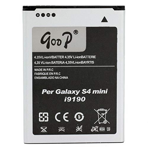 BVC 45229 - Batería Compatible con Samsung Galaxy S4 Mini i9190 (1900mAh, 4.35V, Li-Ion)