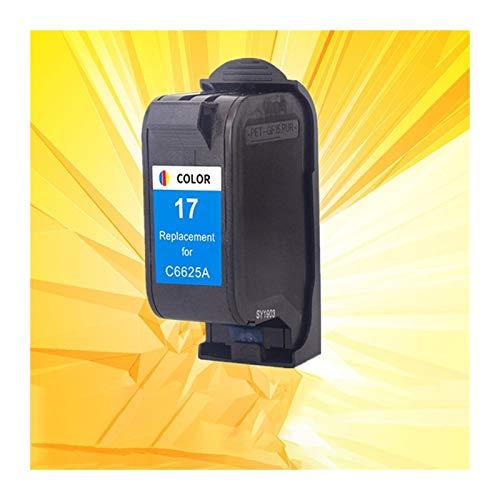 LIUYB Cartuchos de Tinta aplicable for HP15 HP17 for 15 17 XL Cartuchos de Tinta 15XL 17XL C6615A C6625A Deskjet 816C 825c 840c 841c 843c 845c 842C Impresora (Color : 1 Pack Color)