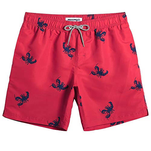 MaaMgic Uomo Costume da Bagno Nuoto Calzoncini Asciugatura Veloce per Spiaggia Mare Piscina Sport Slip Pantaloncini Calzoncini