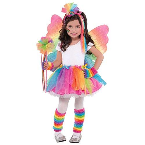 Christy's costumes Kinder Regenbogen Fee Tutu