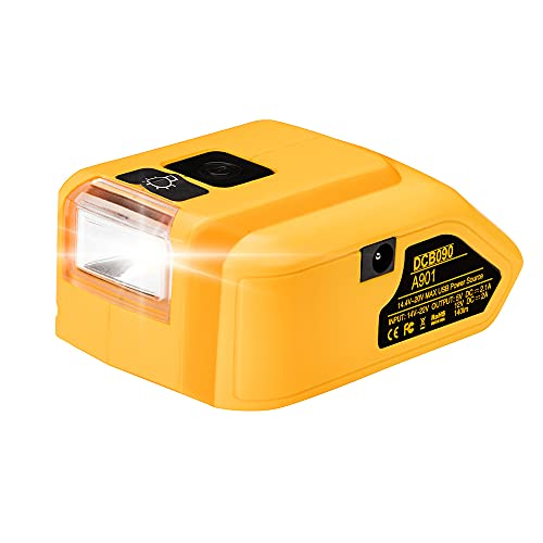 DCB090 Battery Adapter Converter, LENMAX DCB090 Power Source Charger...