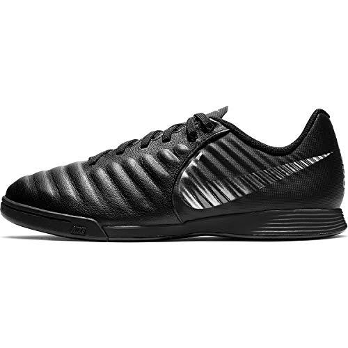 Nike Unisex Tiempo LegendX VII Academy Indoor Fitnessschuhe, Schwarz (Black/Black 001), 36 EU