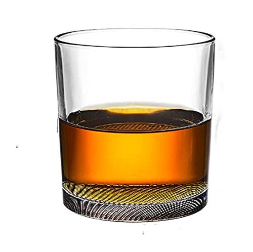 Vidrio de cristal de whisky, Copa de vino extranjero, Vidrio clásico para beber, Copa de brandy, Bar Wine Set, Vaso de cerveza, Vidrio de rejilla