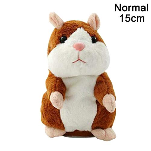 Teekit Talking Pet Hamster Electronic Plush Toy Cute Sound Record Educativo para niños