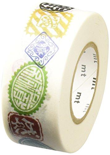 Masking Tape (MT) 2,5 cm Pack sceaux Japonais - Seal