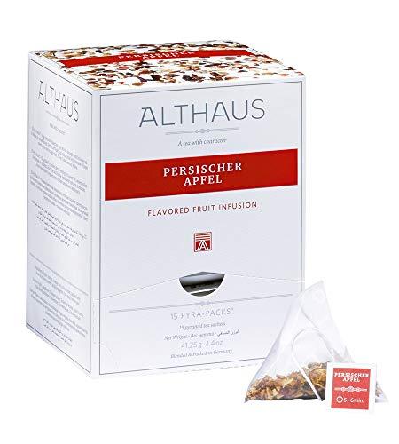 Althaus Pyra Pack Persischer Apfel 15 x 2,75g ⋅ Früchtetee im Pyramidenbeutel
