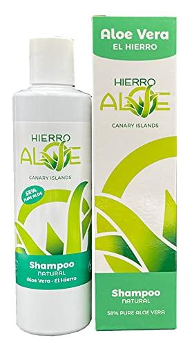 Hierroaloe Champú Aloe Vera Natural (58% Jugo puro Aloe Vera) 250ml