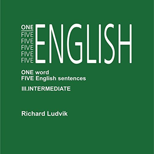 One Five English Intermediate audiobook cover art