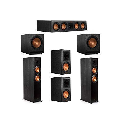 Best Price Klipsch 5.2 System with 2 RP-6000F Floorstanding Speakers, 1 Klipsch RP-404C Center Speak...