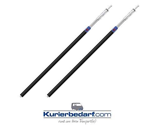 Kurierbedarf.com 2X Sperrbalken für Sprinter 1,55-2,05 m mit Schutzschlauch