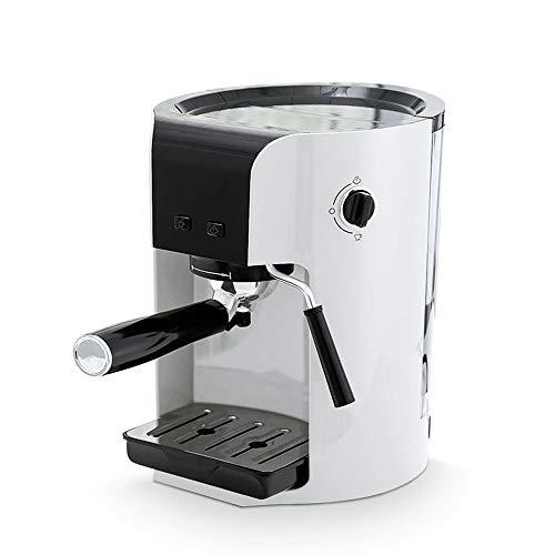 XIMULIZI Espresso-Kaffeemaschine Hochdruck Italienisch Semiautomatisch Haushalt Kommerziell Dampfmilchschaum Pulver/Kapsel Dual Purpose,UK