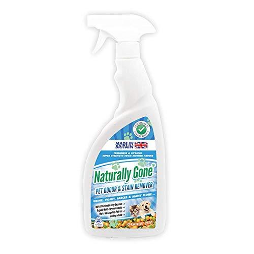 Eliminador de olores y manchas para mascotas