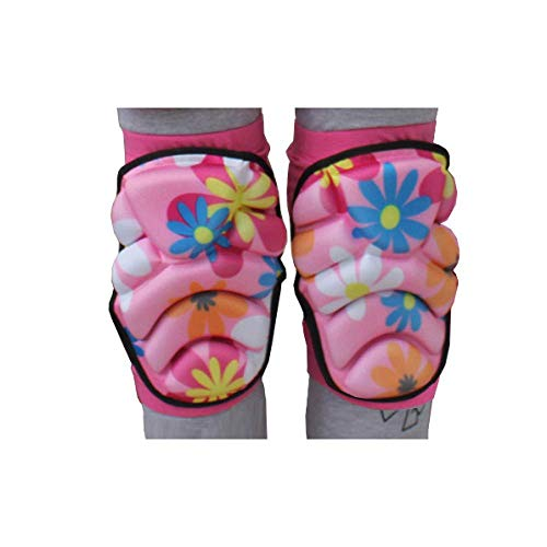 Sywlwxkq 1 paar kniebeschermers, sport skateboard ski basketbal kniesteunen veiligheid meisjes jongen beenbeschermers