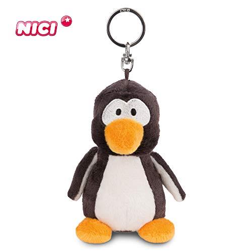 NICI Schlüsselanhänger Plüschtier Pinguin Frizzy 10 cm – Pinguin Kuscheltieranhänger mit Schlüsselring für Schlüsselband, Schlüsselbund, Schlüsselhalter & Schlüsselkette – Taschenanhänger – 44100