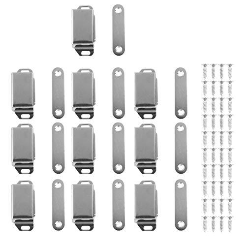 VILLCASE - Fermaporta magnetico, in acciaio inox, resistente, per cucina, bagno, camera da letto, credenza, 50 pezzi