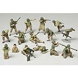 Tamiya - 32513 - Maquette - Infanterie U S - Echelle 1:48