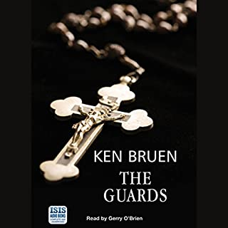 The Guards                   By:                                                                                                                                 Ken Bruen                               Narrated by:                                                                                                                                 Gerry O'Brien                      Length: 4 hrs and 37 mins     223 ratings     Overall 3.9