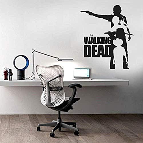 Wandaufkleber Kinderzimmer Wandaufkleber Walking Dead Wandtattoo Pvc The Walking Dead Wandkunst Wandkunst Aufkleber Wohnkultur 71X61Cm