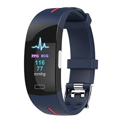 DIPOLA Pulsera de Reloj Smart Watch en Color, frecuencia cardíaca, Pulsera de ECG para iOS Android i