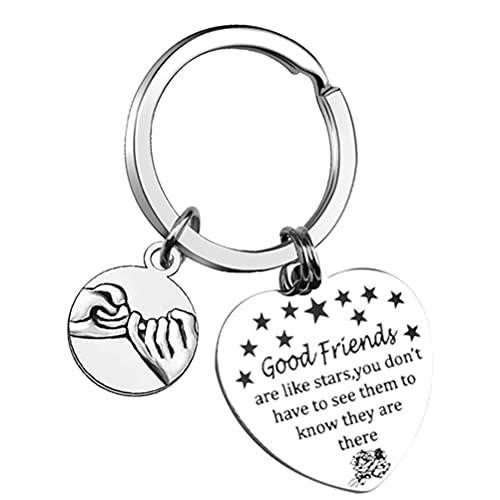 nuoshen Best Friends Keychain,Good Friend are Like Stars Keyring Friendship...