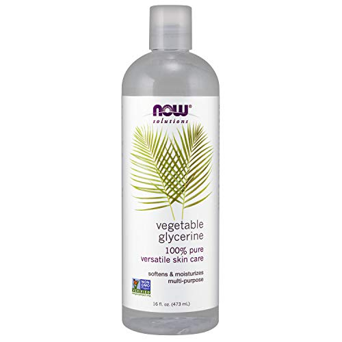 Now Solutions, Vegetable Glycerin, 100% Pure, Versatile Skin Care, Softening and Moisturizing,...