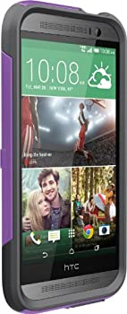 Otterbox HTC M8 Commuter Series Case - Retail Packaging - Radiant Purple