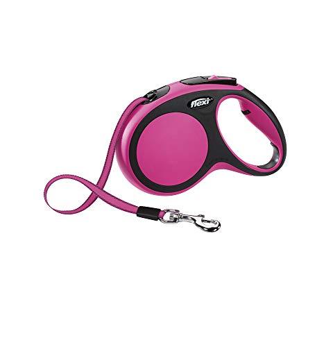 flexi New Comfort M Gurt 5 m pink für Hunde bis 25 kg