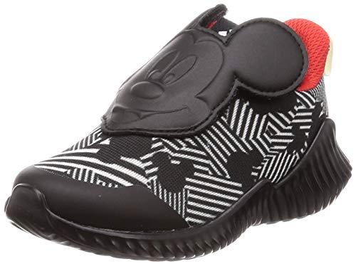 adidas Unisex Baby Fortarun Mickey Ac I Gymnastikschuhe, Schwarz (Core Black/Off White/Active Red Core Black/Off White/Active Red), 20 EU